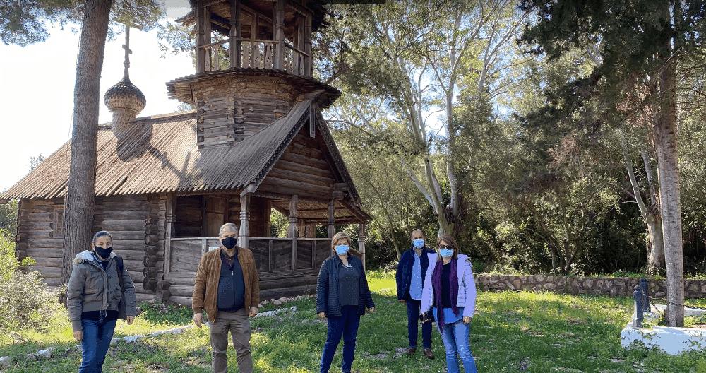 Συνάντηση Καρβέλα-Μηλίτση για το ρωσικό εκκλησάκι στη Σφακτηρία και το Κάστρο Μεθώνης